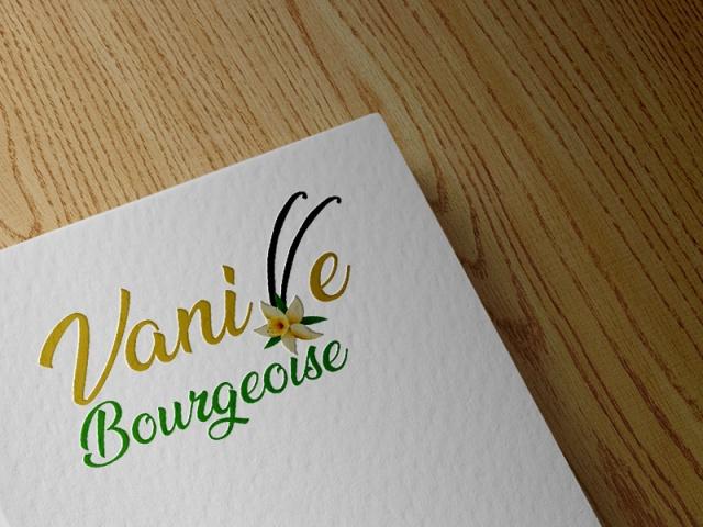 Logo - Vanille bourgeoise